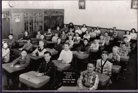 classroom 1950