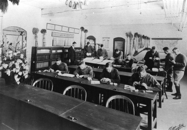 classroom vintage