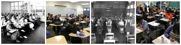 high school classrooms