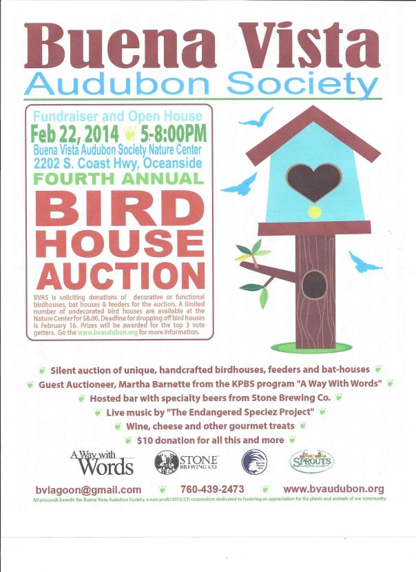 birdhouse auction 2014