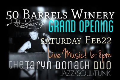fifty barrels grand opening