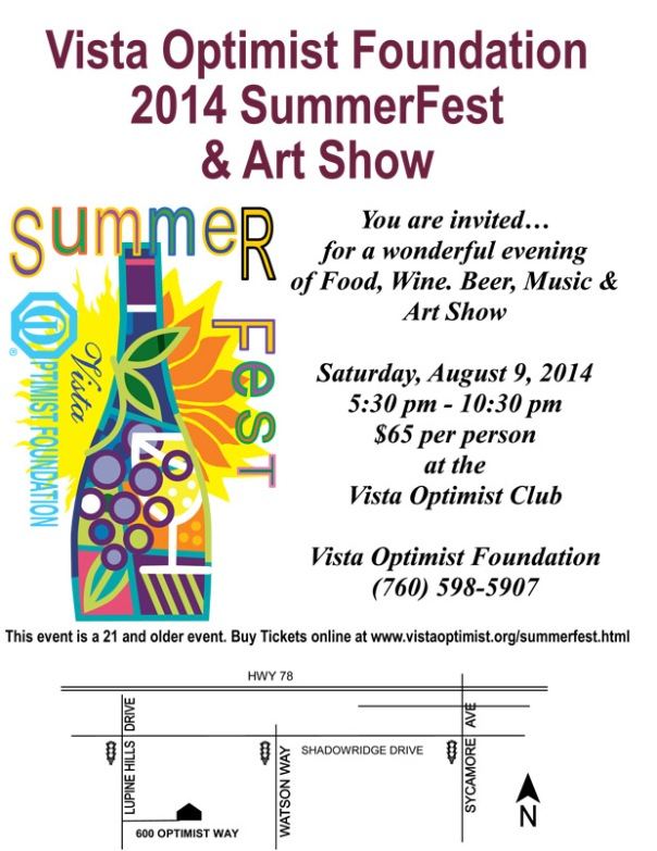 vista optimists summerfest 2014