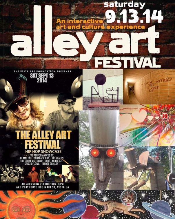 alley art festival